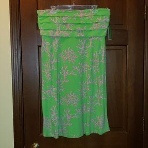 Lilly Pulitzer strapless Petula dress